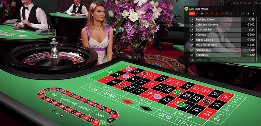 afbeelding evolution gaming live roulette met een vrouw