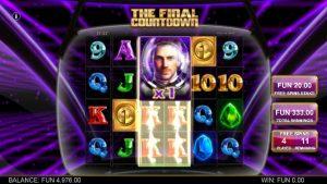 Screenshot The Final Countdown Videoslot Big Time Gaming 4