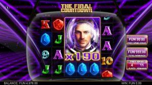 Screenshot The Final Countdown Videoslot Big Time Gaming 5