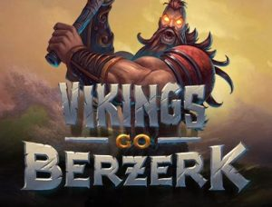 logo vikings go berzerk videoslot yggdrasil