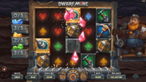 screenshot dwarf mine collectable freespins