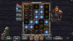 screenshot dwarf mine expanding reels