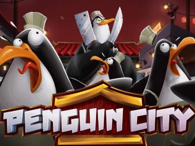 afbeelding penguin city videoslot yggdrasil