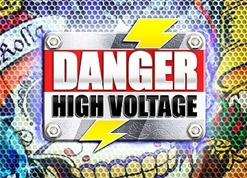 Logo Danger High Voltage videoslot